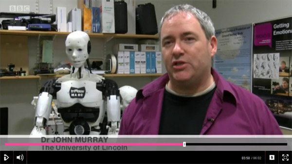iPlayer story on University of Lincoln