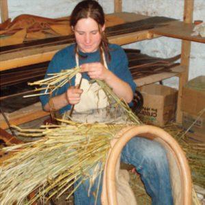 Horse collar making