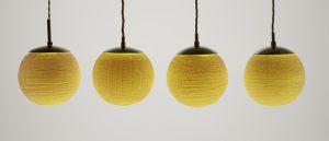 Porcelain lithophane lighting by Bethan Lewis-Williams