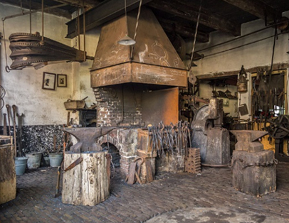 Forge and ceramics
