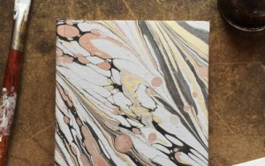 Lucy McGrath's marbling