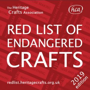 HCA Red List of Endangered Crafts 2019