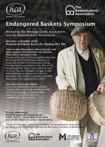 Endangered Baskets Symposium 5 October 2019