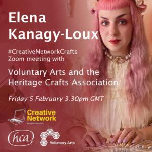 #CreativeNetworkCrafts with Elena Kanagy-Loux