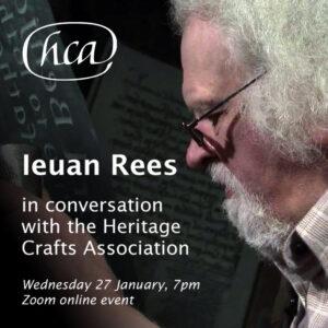 Ieuan Rees in Conversation