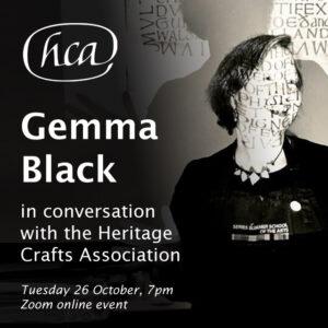 Gemma Black in Conversation