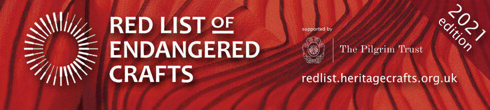 Craft skills under threat with 27 additions to the HCA Red List of Endangered Crafts