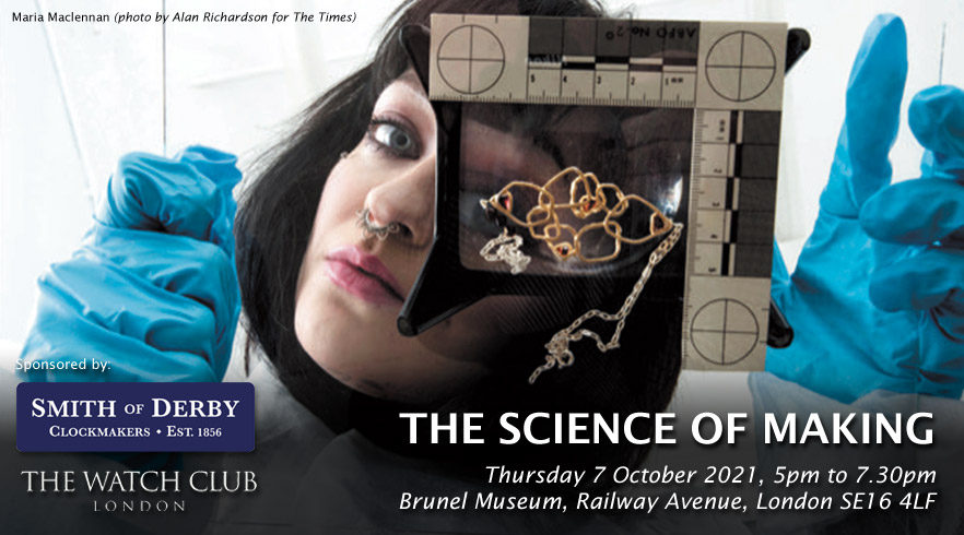 The Science of Making – part of London Craft Week