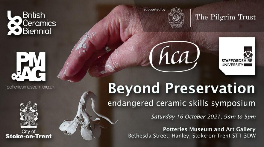 Beyond Preservation – endangered ceramic skills symposium